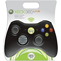Control Pad X-Box 360 Wireless – Black (Microsoft)
