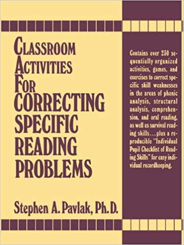 Amazon.com: Classroom Activities For Correcting Specific Reading ...