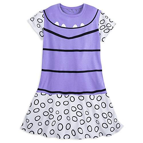 Disney Monsters Inc. Boo Costume Tunic T-Shirt Dress for Women (Large) Purple -
