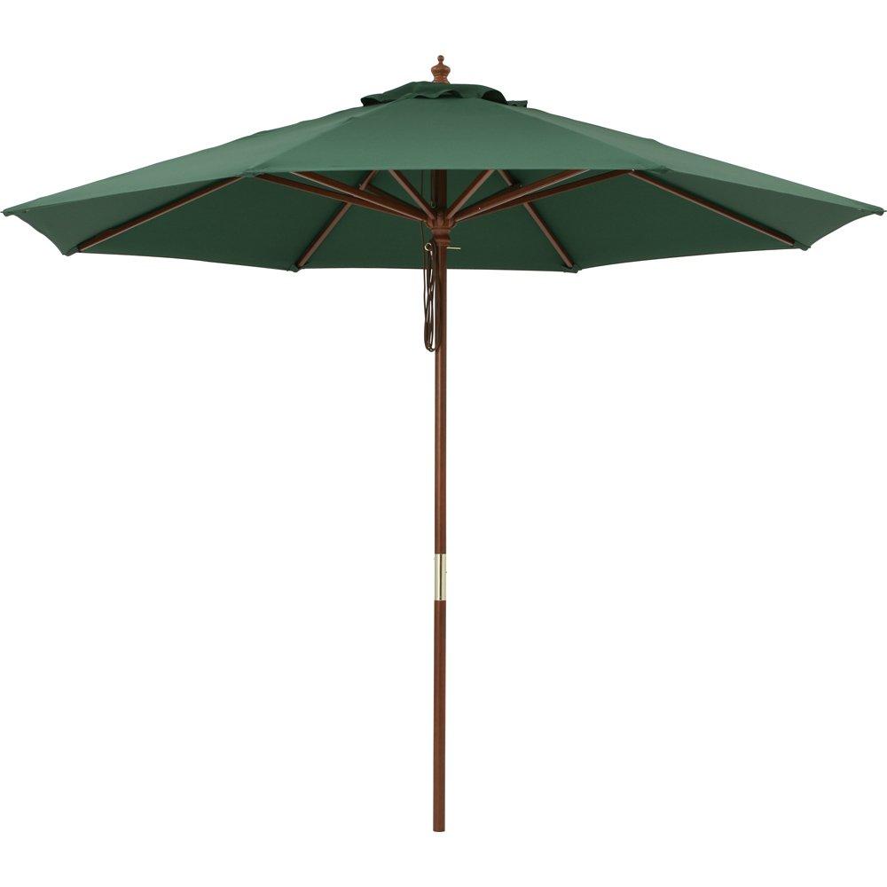 径210cm(ウッド支柱ガーデンパラソル) G46908(サイズはありません ウ:グリーン) B079BGB1K9  ウ:グリーン