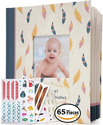 Baby Memory Book - 48 pages, 65 Specially Designed Stickers,