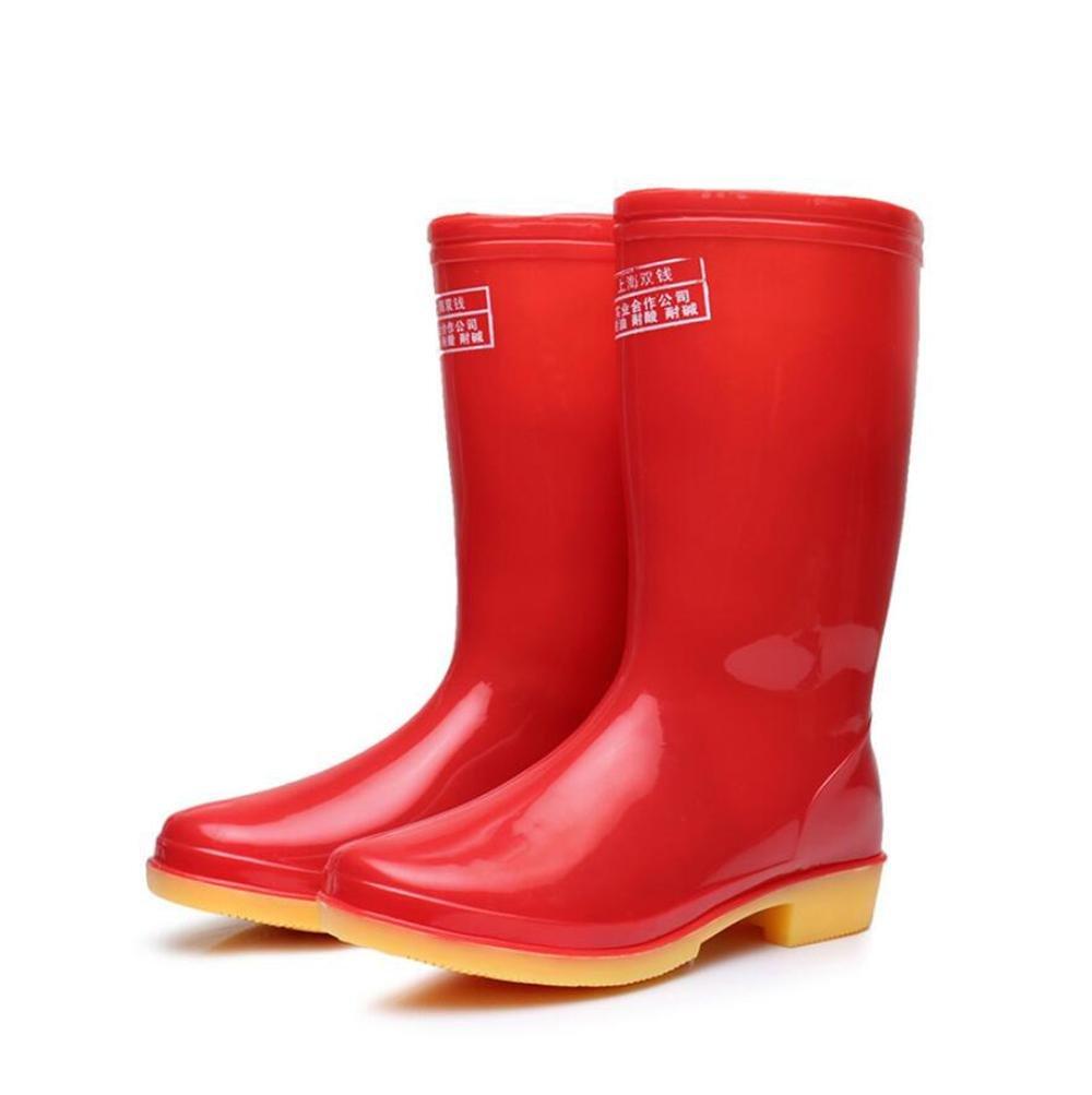 Mädchen in der Röhre Regen Stiefel   Sehne am Ende der Sätze von Schuhen   Arbeitsschuhe Regenstiefel B07B9MVRY9 Sport- & Outdoorschuhe Leidenschaftlicher Sport, niemals aufhören