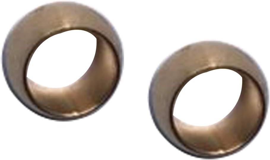 Aluminum Hardline Fitting -6 AN AN6 Female Tube Nut and Sleeve For 5//16 5//16 inch Tube Hose Line Fitting 7.9mm Black