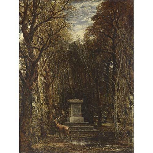 John Constable Cenotaph to The Memory of Sir Joshua Reynolds Unframed Wall Art Print Poster Home Decor Premium