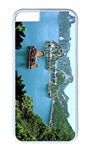 MOKSHOP Adorable halong bay vietnam Hard Case Protective Shell Cell Phone Cover For Apple Iphone 6 Plus (5.5 Inch) - PC White