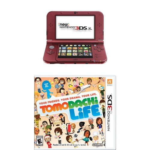 new nintendo 3ds xl red with tomodachi life buy online in kuwait