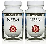 Neem – Organic Full Spectrum Extract 500 mg. 240 Vcaps (2 Pack – 120 ct./ea) Review