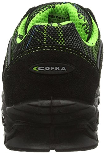 """Cofra 13200–000.w41taglia 41s1p src esd """"lytir sicurezza scarpe, colore: nero/verde"""