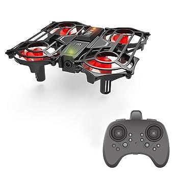 VEDONER RC Drone Inducción Mini Drone Rollo de detección de Gestos ...