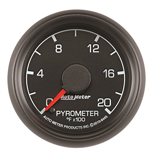Auto Meter 8445 Factory Match 2-1/16'' 0-2000 Degree Fahrenheit Pyrometer Kit Gauge for Ford Racing by Auto Meter (Image #1)