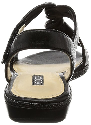 Mujer Sandal Ecco 1001black Bouillon 3 Sandalias Schwarz 0 Ecco YZzqwEE