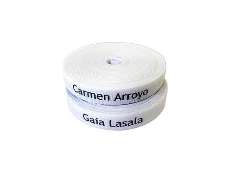 100 étiquettes tissu pour identifier les vêtements thermocollantes