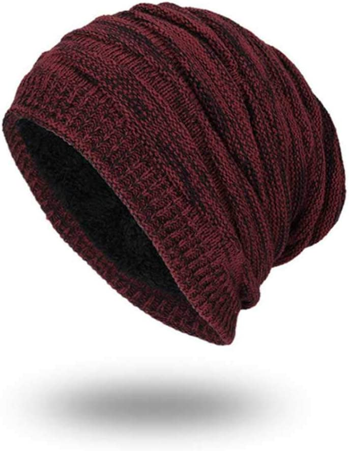 MCSZG Warm Beanie Solid Knitted Skullies Beanies Sombreros de ...