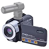 Camcorder Video Camera 24MP Digital Camera Full HD 1080p Vlogging Camera Night Vision HDMI Output with Remote Controller