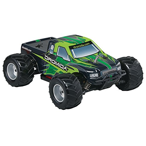 Tires Truck Monster Mt (Dromida 1:18 Scale RTR Remote Control RC Car: Electric 4WD MT Monster Truck with 2.4GHz Radio, 7.2V 6C 1300mAh NiMH Rechargeable Battery, 4 x AA Batteries and Charger)