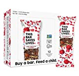 Gluten Free Granola Breakfast Bar, Dark Chocolate Cherry by This Bar Saves Lives, 1.4 oz, 12 bars Review