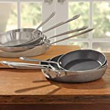 All-Clad 4106NSR2 Stainless Steel Tri-Ply Bonded Dishwasher Safe PFOA-free Non-stick French Skillet / Cookware