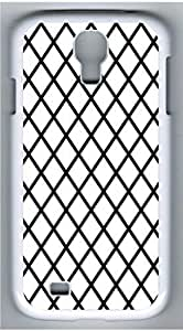 Samsung Galaxy S4 I9500 White Hard Case - Black And White Prism 4 Galaxy S4 Cases
