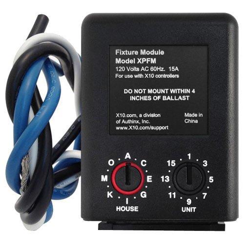 - X10 XPFM Inline Receiver Module