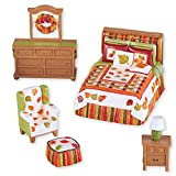 Mini Fall Bedroom Set Tabletop Decoration