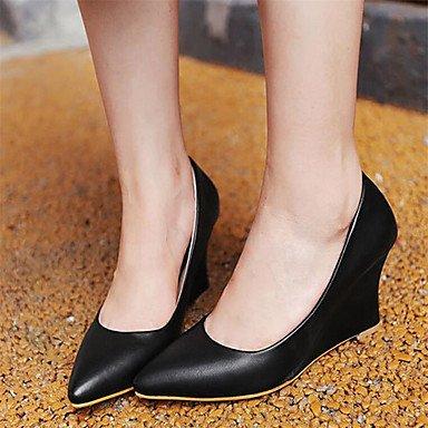 Zormey Tacones Mujer Primavera Verano Otoño Zapatos Club Comfort Pu Oficina &Amp; Carrera Parte &Amp; Vestido De Noche Caminando Talón De Cuña US8.5 / EU39 / UK6.5 / CN40