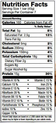 Proti Kind Cinnamon Crunch Protein Bars, 7 Bars, 15g Protein Per Serving