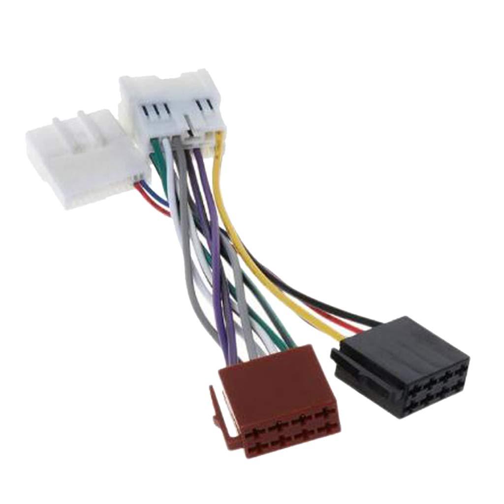 Baoblaze Conector de Adaptador del Arné s de Cableado ISO para RENAULT 2012 / DACIA 2011+