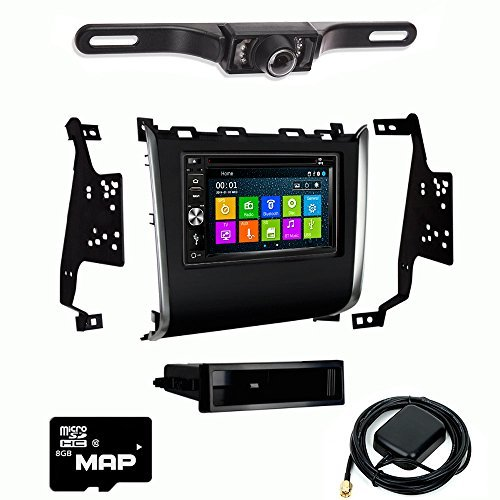 DVD GPS Navigation Multimedia Radio and Kit for Nissan Pathfinder 2013-2016 with Backup Camera ()
