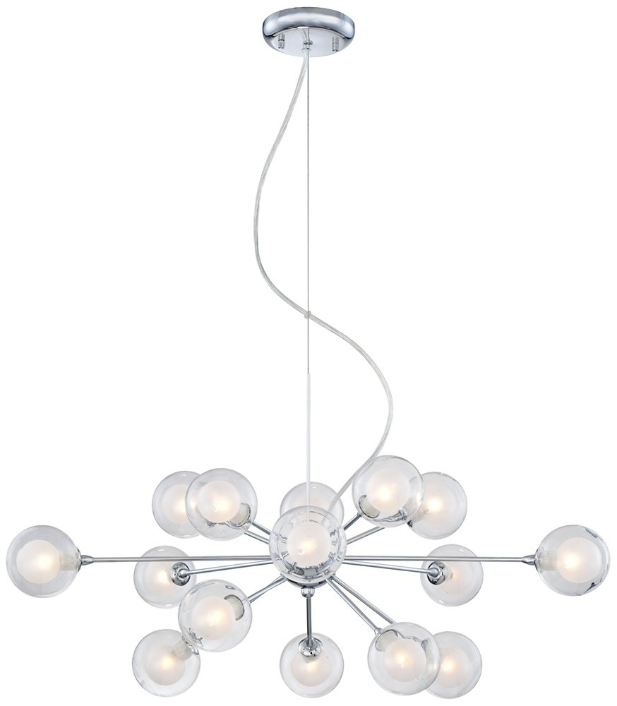 Possini euro design glass sphere 15 light pendant chandelier possini euro design glass sphere 15 light pendant chandelier amazon arubaitofo Images