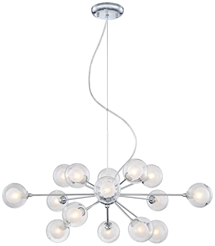 possini euro design lighting. Possini Euro Design Glass Sphere 15-Light Pendant Chandelier Lighting