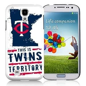 New Style MLB Minnesota Twins Samsung Galaxy S4 I9500 Case Cover For MLB Fans WANGJING JINDA