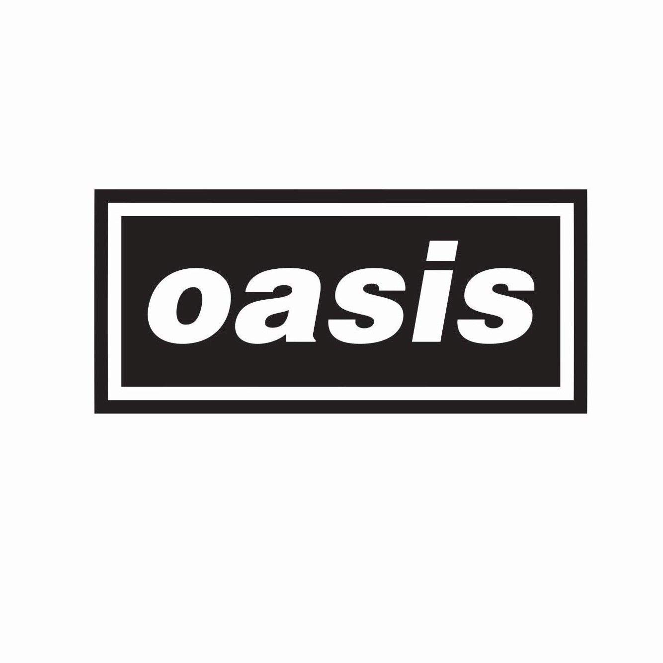 Oasis Bands Automotive Decal//Bumper Sticker