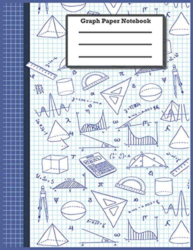 Graph Paper Notebook: Graph Paper Composition Notebook, Grid Paper Notebook, Quad Ruled, 100 Sheets (Large, 8.5 x 11)