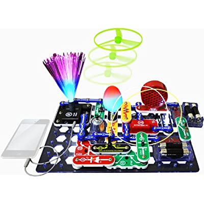 Snap Circuits Extreme SC-750R Electronics Exploration Kit + Student Training Program with Student Study Guide | Perfect for STEM Curriculum & Light Electronics Exploration Kit: Toys & Games