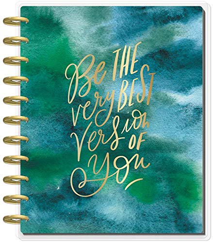 Create 365 ; The Big Happy Planner ; Be The Very Best Version of You ; 18 Month (July 2019-December 2020) ; Vertical Layout ; Size: 11.5 x 10.25 ; Weekly & Monthly Layout Pages