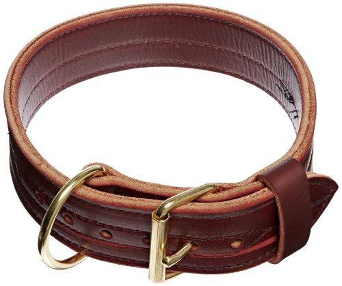 Signature K9 2-Inch Heavy Agitation Collar, Burgundy (Signature Dog Collar)