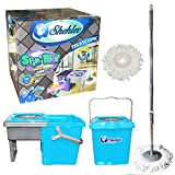 Little Twister Super Compact Designed Spin Mop & Bucket Floor Cleaner Best Floor