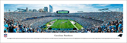 Carolina Panthers - Unframed 40 x 13.5 Poster by Blakeway Panoramas