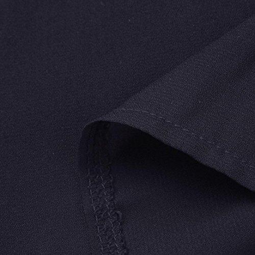 Tee Femmes à Haut col Femmes en The Perfect Marine Beikaord Blouses Épissure Manches Shirt T Femmes Débardeurs Lâche Manches Longues Casual à Longues V Mode Tops qg7xZw7E8