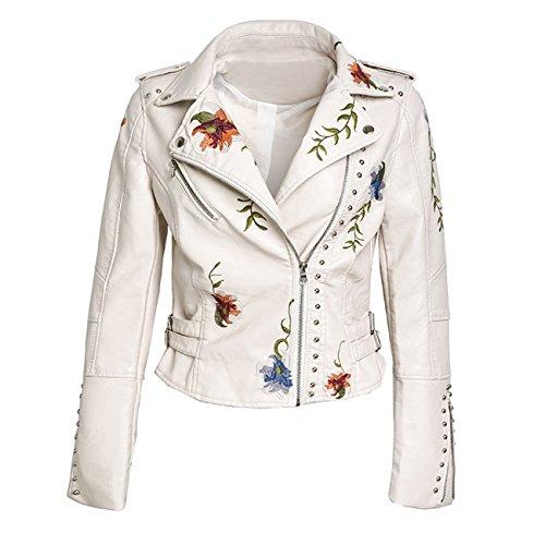 Giacca Donna Qingfang Qingfang White Giacca fczagf1
