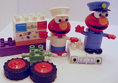 Set of 12 Kid K'nex Sesame Street Assorted Elmo Replacement Pieces Parts - Kid Knex Elmo