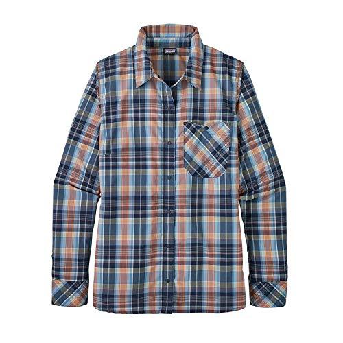 W' Classic S Navy s wawona Patagonia Camicia Donna Havasu Blu L Plaid TdBUvqUFw