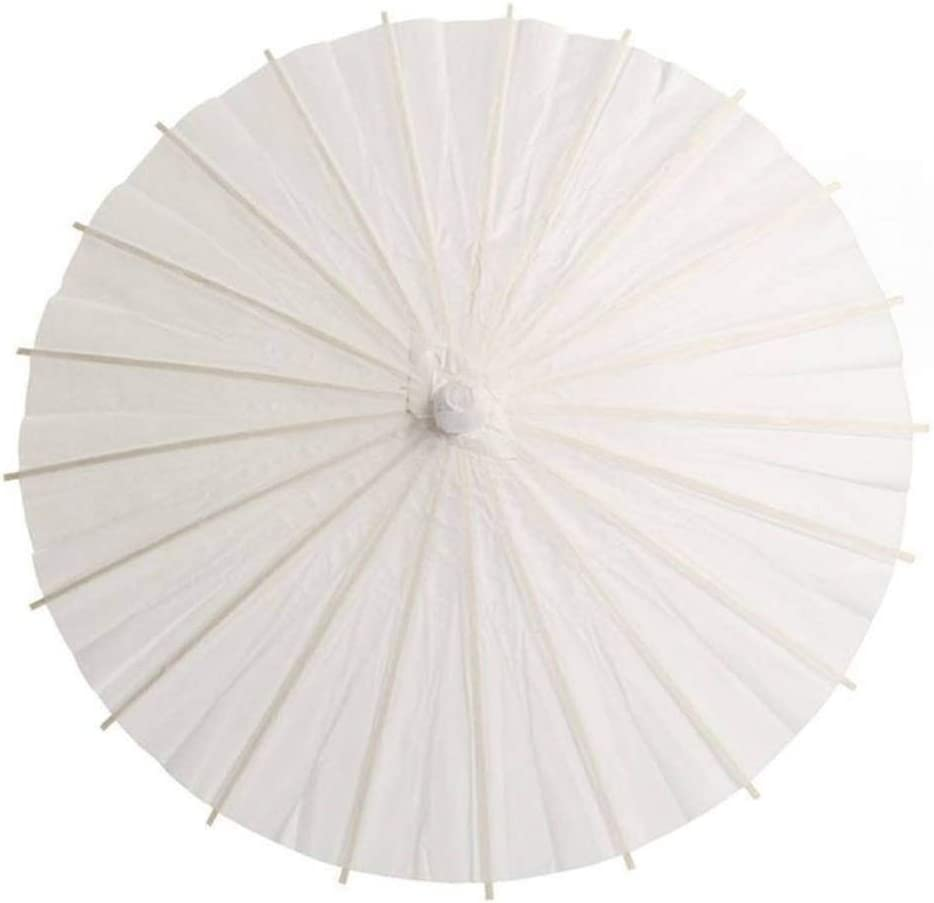 Color : A4 52CM XIANGNAIZUI Chinese Style Blank Oil Paper Umbrella for Children DIY Project Home Decor Accessories Art Painted Decorative