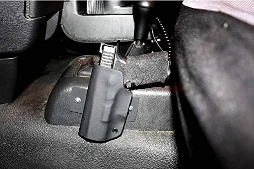 """Advanced Performance Shooting Holsters """"Longest Haul"""" Vehicle Mounted Holster (Right Side Mounting Bracket)"""