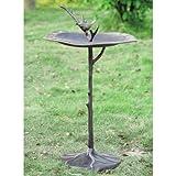 SPI Home 33348 Bird on Branch Sundial/Birdbath review