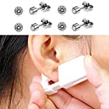 4 Pack Self Piercing Earrings Gun Kit, Disposable