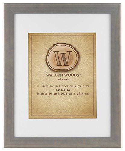 MCS Walden Woods Essentials 8x10 Inch for Holding Image, Gray (45882)