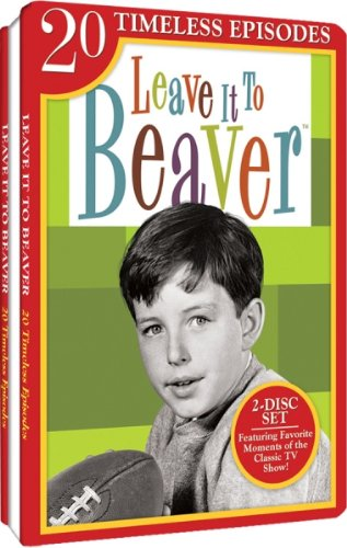 Embossed Cd Case - Leave It To Beaver - 20 Timeless Episodes - Embossed Slim Tin