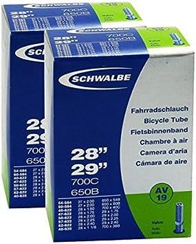 2 Stück Schwalbe Schlauch Fahrradschlauch Av19 27 5 28 29 Sport Freizeit