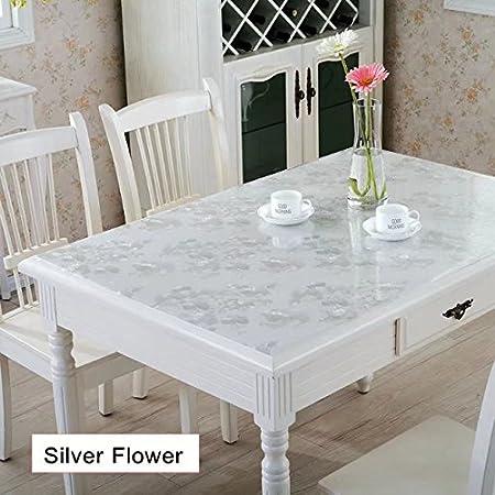 Suave Cristal Alike Table Pad PVC impermeable mantel para mesa ...